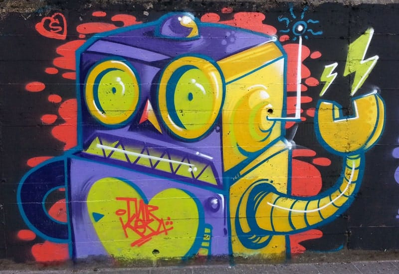 robot-graffiti